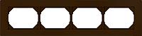 Рамка для выключателя Vilma 4779101513042 (коричневый) -