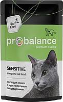 Корм для кошек ProBalance Sensitive для кошек с чувствительным пищеварением  (85г) -