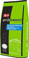 Корм для собак ProBalance Delicate Digestion с лососем и рисом (15кг) -