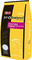Корм для собак ProBalance Immuno Adult с говядиной (15кг) -
