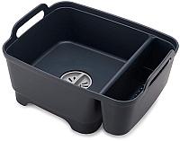 Емкость для мытья посуды Joseph Joseph Wash&Drain Bowl 85138 (темно-серый) -