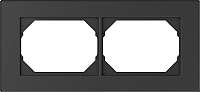 Рамка для выключателя Vilma 4779101517026 (антрацит) -