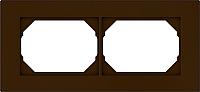 Рамка для выключателя Vilma 4779101513028 (коричневый) -