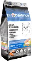 Корм для кошек ProBalance Sterilized (10кг) -