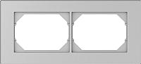 Рамка для выключателя Vilma 4779101519303 (металлик) -
