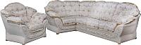 Комплект мягкой мебели Домовой Романтика-1 4Sed+1.7  (Bornes 32252/Bornes Com1 32252) -