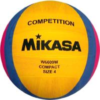 Мяч для водного поло Mikasa W6609W (желтый/синий/розовый) -