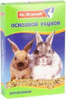Корм для грызунов Dr.Hvostoff Основной рацион для кроликов (600мл) -