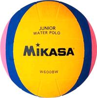 Мяч для водного поло Mikasa Junior W6008W (желтый/синий/розовый, р-р 2) -