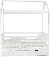 Кровать-домик Incanto DreamHome (белый) -