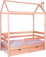 Стилизованная кровать детская Incanto DreamHome (натуральный) -