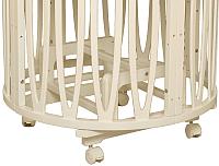 Маятниковый механизм для кроватки Incanto Acqua 2 в 1 (слоновая кость) -
