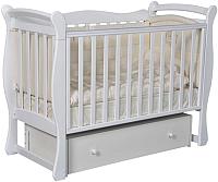 Детская кроватка Антел Julia-1 (белый) -