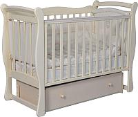 Детская кроватка Антел Julia-1 (слоновая кость) -
