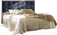 Двуспальная кровать Мебель-КМК 1600 Монако 2 0673.4 (сосна натуральная/дуб шато) -