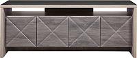 Тумба Мебель-КМК 4Д Монако 0673.10 (сосна натуральная/дуб шато) -