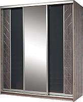 Шкаф Мебель-КМК Монако 0673.14 (сосна натуральная/дуб шато) -