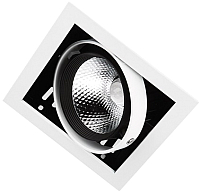 Точечный светильник Ambrella T811 BK/CH 12W 4200K -