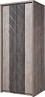Шкаф Мебель-КМК Монако 0673.20 (сосна натуральная/дуб шато) -