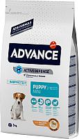 Корм для собак Advance Puppy Protect Mini с курицей и рисом (3кг) -