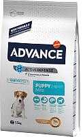 Корм для собак Advance Puppy Protect Mini с курицей и рисом (7.5кг) -