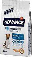 Корм для собак Advance Mini Adult с курицей и рисом (3кг) -