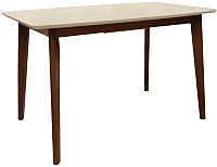 Обеденный стол Домовой IM-2225T-121575EX (дуб Art/белый) -