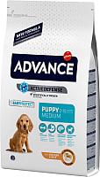 Корм для собак Advance Puppy Medium с курицей и рисом (18кг) -