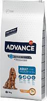 Корм для собак Advance Medium Adult с курицей и рисом (14кг) -