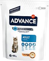 Корм для кошек Advance Adult с курицей и рисом (400г) -