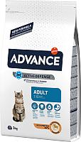 Корм для кошек Advance Adult с курицей и рисом (3кг) -