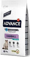 Корм для кошек Advance Sterilized Hairball (10кг) -