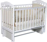 Детская кроватка Антел Алита-3/5 (белый) -