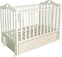 Детская кроватка Антел Каролина-4/6 (слоновая кость) -