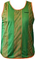 Манишка футбольная Torres TR11045O/G (р-р 48-50, оранжевый/зеленый) -