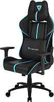 Кресло геймерское ThunderX3 BC5 Air (черный/голубой) -
