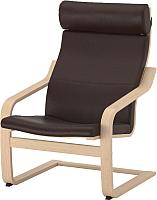 Кресло мягкое Ikea Поэнг 192.817.07 -