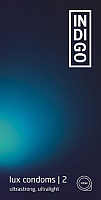 Презервативы INDIgo Lux №2 ультрапрочные ультратонкие -