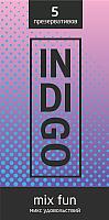 Презервативы INDIgo Mix Fun №5 микс удовольствий -