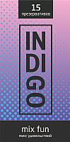 Презервативы INDIgo Mix Fun №15 микс удовольствий -