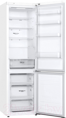 Холодильник с морозильником LG GA-B509SQKL