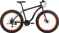 Велосипед Black One Monster 26 D 2019 (18, черный/оранжевый) -