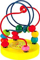 Развивающая игрушка РЫЖИЙ КОТ Лабиринт / ИД-5927 (желтый) -