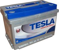 Автомобильный аккумулятор TESLA Premium Energy R / TPE80.0 low (80 А/ч) -