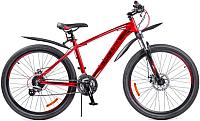 Велосипед Black Aqua Cross 2691 V GL-328V 2018 (красный/черный) -