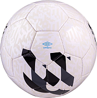 Футбольный мяч Umbro Veloce Supporter / 20981U (размер 5, белый/темно-серый/черный/голубой) -
