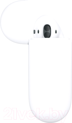 Наушники-гарнитура Apple AirPods 2 / MV7N2 (в зарядном футляре) -