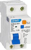 Дифференциальный автомат Chint NXBLE-63Y 1P+N 20А 30mA AС С 4.5kA 105543 -