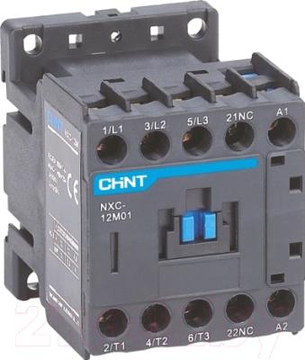 Контактор Chint NXC-09M01 9A 220В/АС3 1НЗ 50Гц 836588