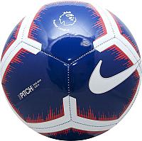 Футбольный мяч Nike Pitch PL / SC3597-455 (размер 5, темно-синий/белый/красный) -